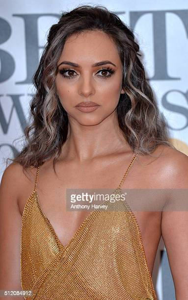 Jade Thirlwall attends the BRIT Awards 2016 at The O2 Arena on February 24, 2016 in London, England.
