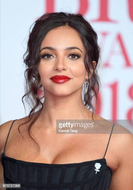 AWARDS 2018 *** Jade Thirlwall attends The BRIT Awards 2018 held at The O2 Arena on February 21 2018 in London England