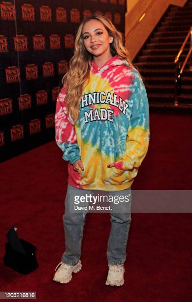 """Jade Thirlwall attends the gala night performance of """"The Prince of Egypt"""" at the Dominion Theatre on February 25, 2020 in London, England."""