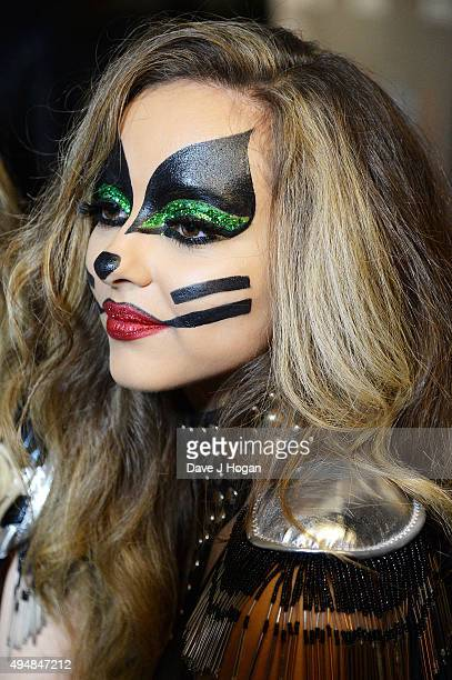Jade Thirlwall attends the KISS FM Haunted House Party at SSE Arena on October 29 2015 in London England
