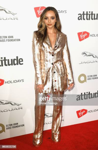Jade Thirlwall attends the Virgin Holiday's Attitude Awards 2017 at The Roundhouse on October 12, 2017 in London, England.