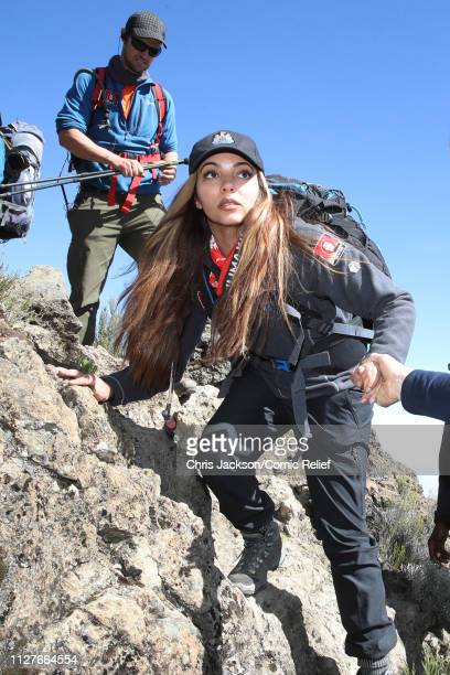 Jade Thirlwall during day five of 'Kilimanjaro The Return' for Red Nose Day on February 27 2019 in Arusha Tanzania all to raise funds for Comic...