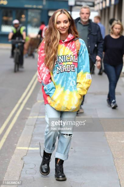 Jade Thirlwall from Little Mix seen at KISS FM UK on June 12, 2019 in London, England.