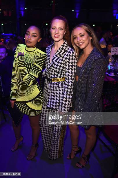 Jade Thirlwall Jess Glynne and LeighAnne Pinnock attend The Virgin Holidays Attitude Awards at The Roundhouse on October 11 2018 in London England