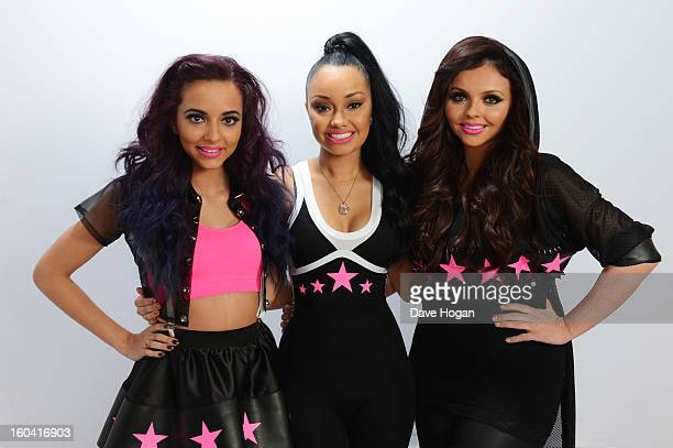Jade Thirlwall Leigh Anne Pinnock and Jesy Nelson of Little Mix pose for a portrait on December 8 2012 in London England
