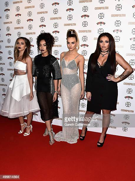 Jade Thirlwall LeighAnn Pinnock Perrie Edwards and Jesy Nelson of Little Mix attend the Cosmopolitan Ultimate Women Of The Year Awards at One Mayfair...
