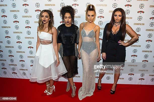 Jade Thirlwall LeighAnne Pinnock Perrie Edwards and Jesy Nelson from Little Mix attend the Cosmopolitan Ultimate Women of the Year Awards at One...