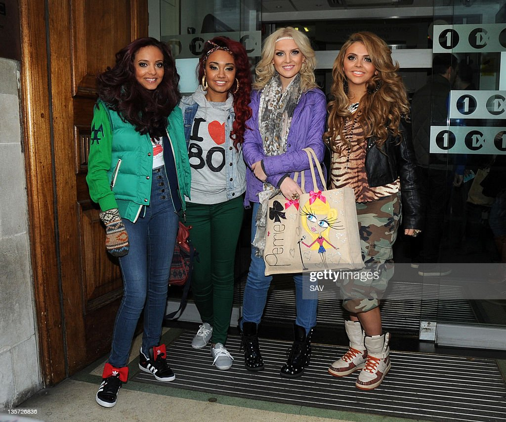 Little Mix Sighting In London - December 13, 2011 : News Photo