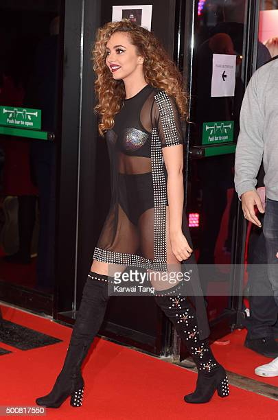 Jade Thirlwall of Little Mix attends the BBC Music Awards at Genting Arena on December 10 2015 in Birmingham England
