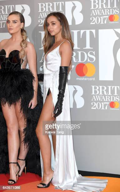 ONLY Jade Thirlwall of Little Mix attends The BRIT Awards 2017 at The O2 Arena on February 22 2017 in London England