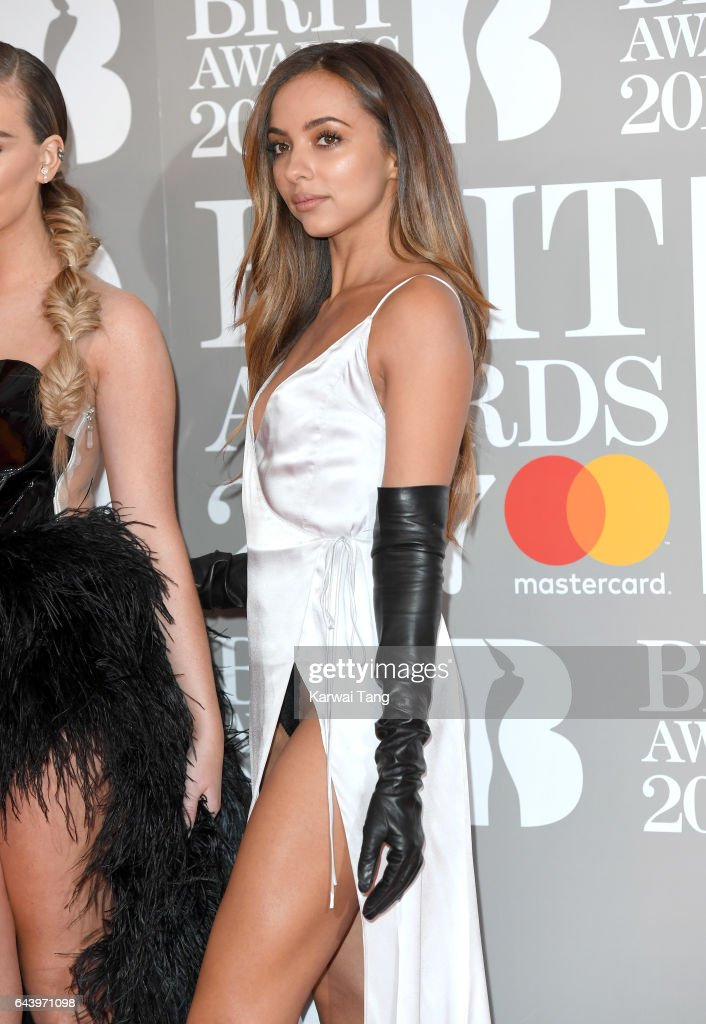 ONLY. Jade Thirlwall of Little Mix attends The BRIT Awards 2017 at The O2 Arena on February 22, 2017 in London, England.