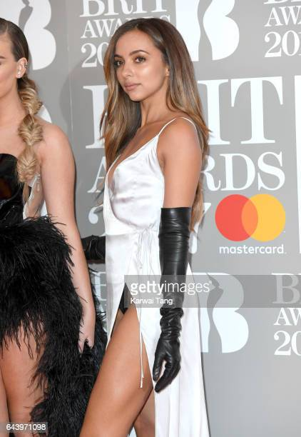 Jade Thirlwall of Little Mix attends The BRIT Awards 2017 at The O2 Arena on February 22, 2017 in London, England.