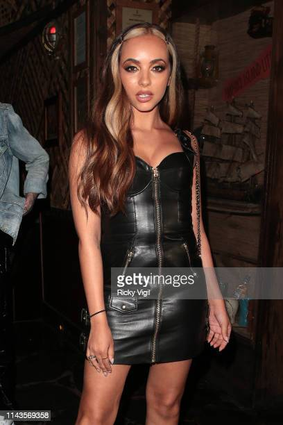 Jade Thirlwall seen attending IN'A'SEASHELL - launch party at Mahiki on April 18, 2019 in London, England.