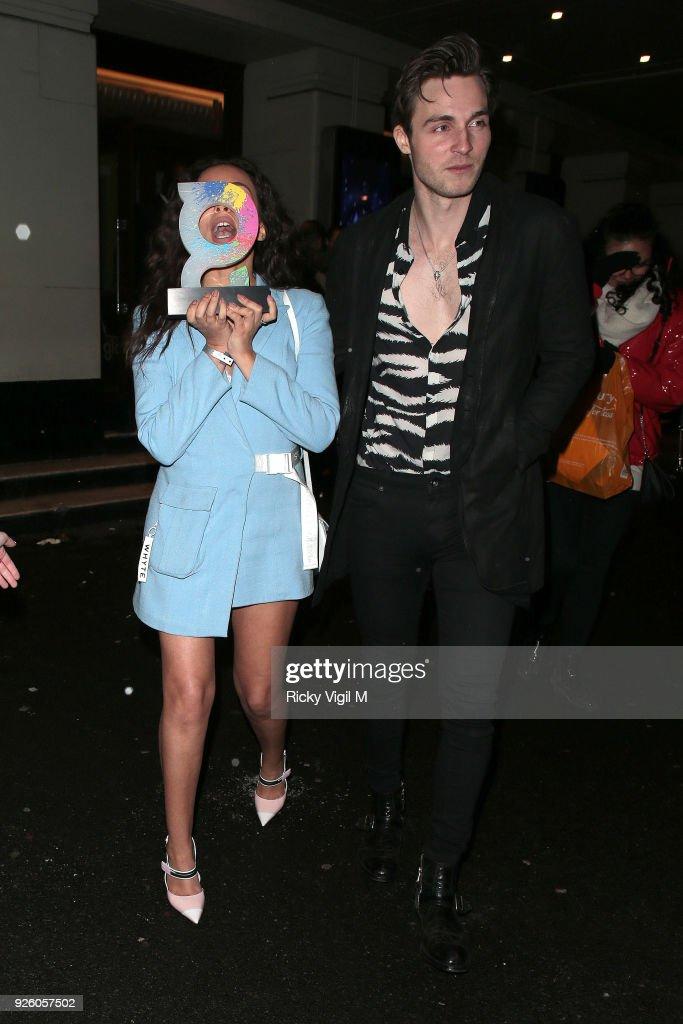 London Celebrity Sightings -  March 01, 2018 : News Photo