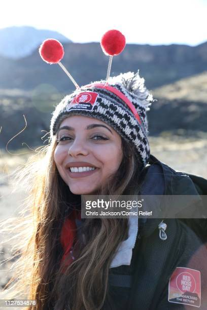 Jade Thirlwall smiles during day four of 'Kilimanjaro The Return' for Red Nose Day on February 26 2019 in Arusha Tanzania all to raise funds for...