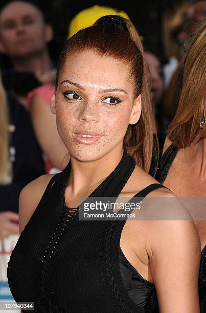 Jade Thompson attends Pride of Britain Awards at Grosvenor House on October 3 2011 in London England