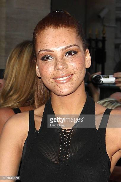 Jade Thompson attends the Pride of Britain Awards at Grosvenor House on October 3 2011 in London England
