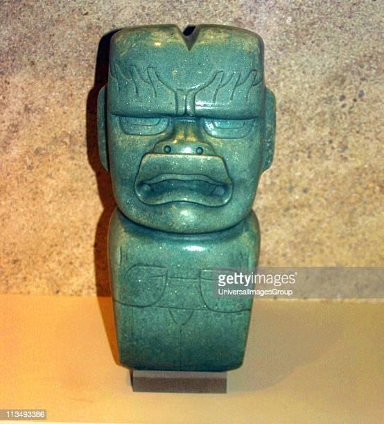 Jade votive axe Olmec 1200400 BC Mexico Mesoamerican Artefact PreColumbian