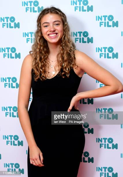 Jade Webster attending the fifth annual Into Film Awards held at the Odeon Luxe in Leicester Square London