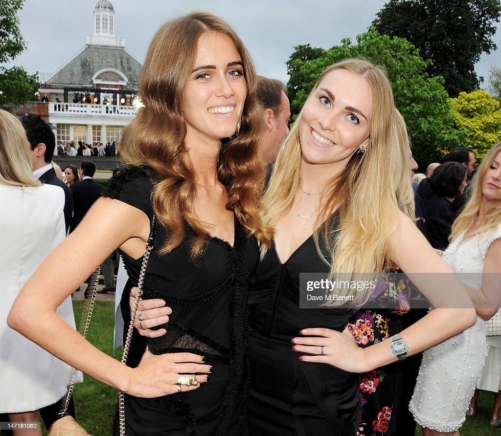 Jade Williams aka Sunday Girl (L) and Becky Tong attend The Serpentine Gallery Summer Party sponsored by Leon Max at The Serpentine Gallery on June 26, 2012 in London, England.