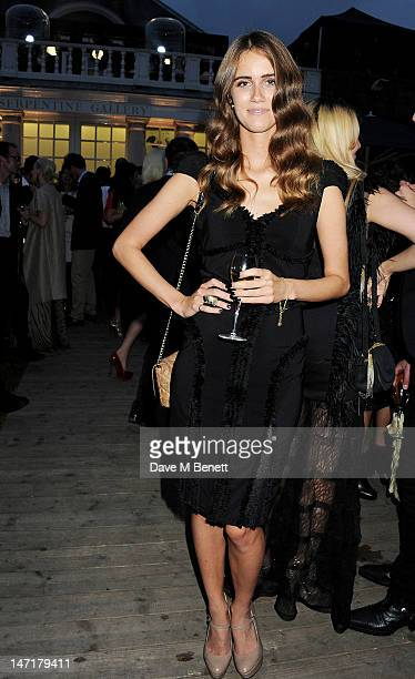 Jade Williams aka Sunday Girl attend The Serpentine Gallery Summer Party sponsored by Leon Max at The Serpentine Gallery on June 26 2012 in London...