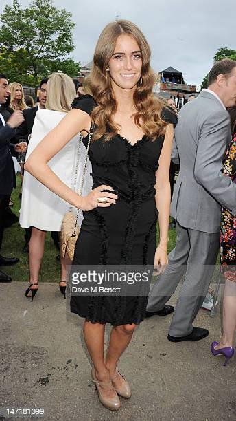 Jade Williams aka Sunday Girl attend The Serpentine Gallery Summer Party sponsored by Leon Max at The Serpentine Gallery on June 26, 2012 in London,...