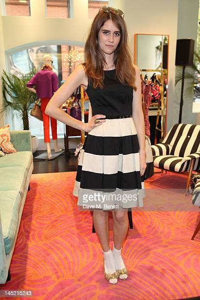 Jade Williams aka Sunday Girl attends an Exclusive Afternoon Tea Party at 'Kate Spade New York' Store in Sloane Square on May 23 2012 in London...