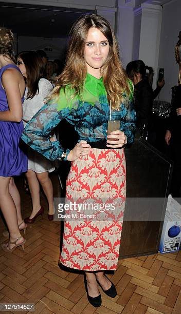 Jade Williams aka Sunday Girl attends the Quintessentially Awards 2011 at One Marylebone on September 28 2011 in London England