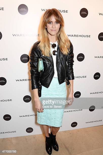 Jade Williams aka Sunday Girl attends the Warehouse Oxford Street Flagship Store Launch on March 6, 2014 in London, England.