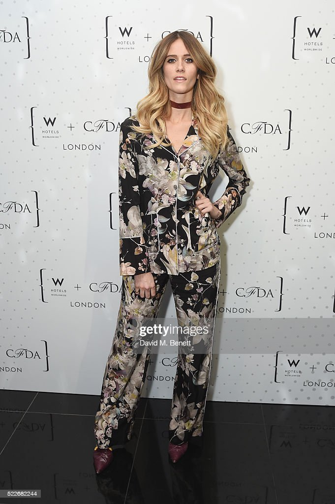 Jade Williams attends a cocktail party hosted by The CFDA at W Hotels London to showcase the current CFDA (Fashion Incubator) class on April 20, 2016 in London, England.