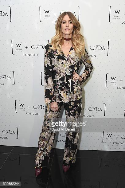 Jade Williams attends a cocktail party hosted by The CFDA at W Hotels London to showcase the current CFDA class on April 20 2016 in London England
