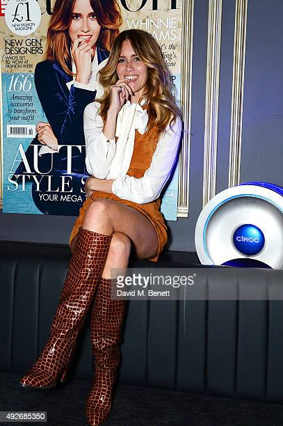 Jade Williams attends Hello Fashion Monthly's first birthday party at Charlie on October 14 2015 in London England