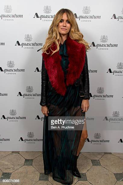 Jade Williams attends the Aquascutum SS17 Presentation on September 16 2016 in London England