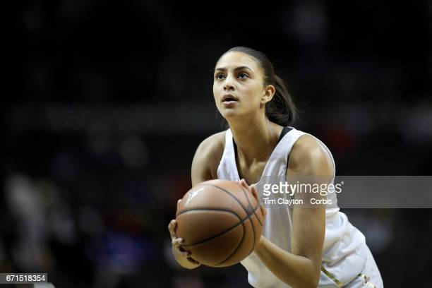 April 14: Jade Williams Duke in action during the Jordan Brand Classic, National Girls Team All-Star basketball game at The Barclays Center on April...