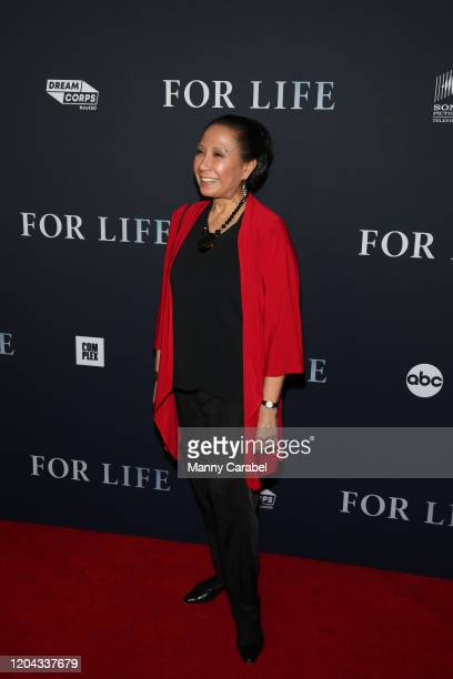 Jade Woo attends ABC's For Life New York premiere at Alice Tully Hall Lincoln Center on February 05 2020 in New York City