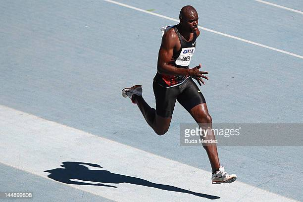 Jadel Greg—rio of Brazil competes in Triple Jump at the GP Brazil Caixa 2012 at Engenhao stadium on May 20, 2012 in Rio de Janeiro, Brazil.