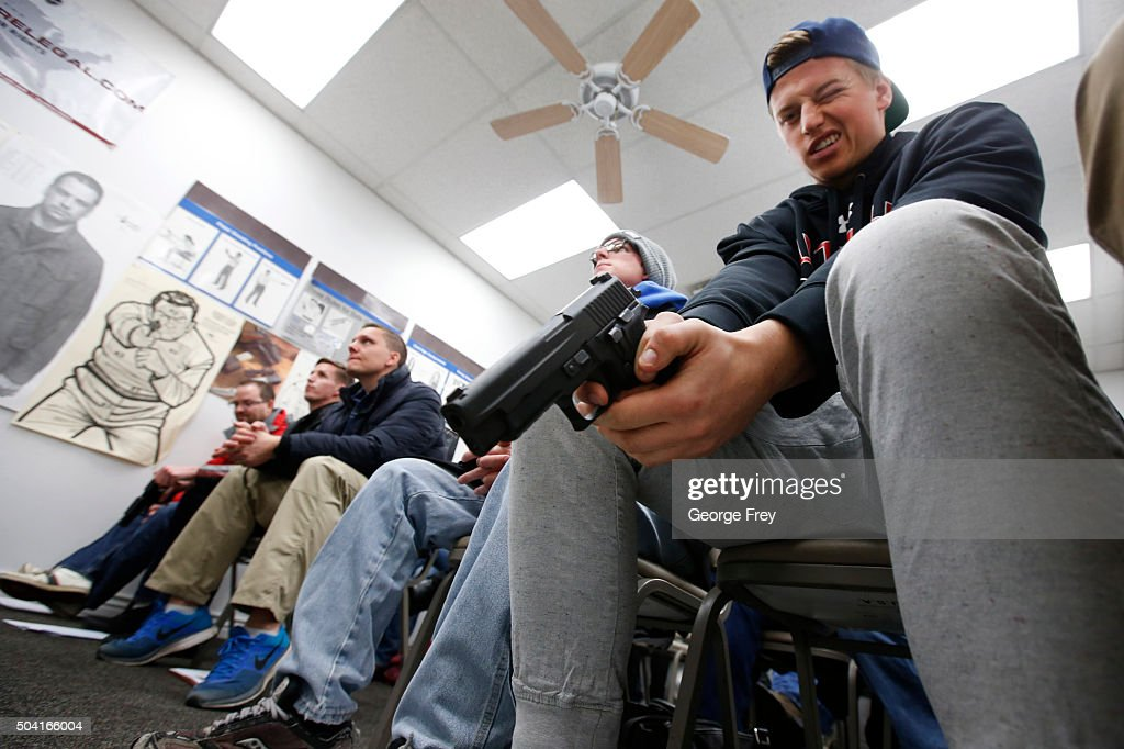 Concealed Carry Classes See Big Push For Licenses : News Photo