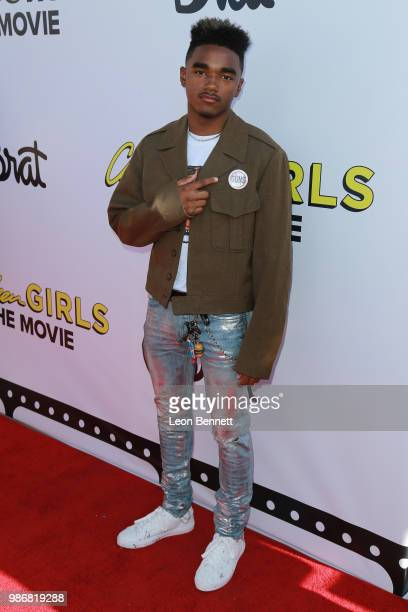 Jaden Martin attends GenZ Studio Brat's Premiere Of Chicken Girls at Ahrya Fine Arts Theater on June 28 2018 in Beverly Hills California