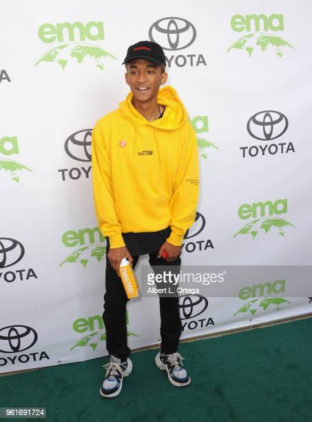 Jaden Smith arrives for the 28th Annual EMA Awards Ceremony held at Montage Beverly Hills on May 22 2018 in Beverly Hills California