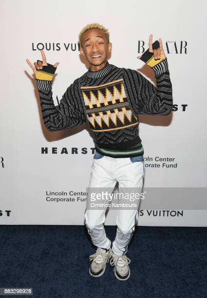 Jaden Smith attends An Evening Honoring Louis Vuitton and Nicolas Ghesquiere at Alice Tully Hall at Lincoln Center on November 30 2017 in New York...