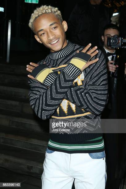 Jaden Smith attends An Evening Honoring Louis Vuitton and Nicolas Ghesquiere at Lincoln Center on November 30 2017 in New York City