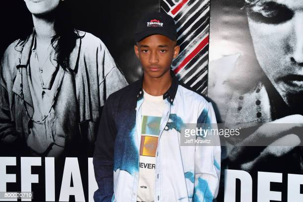 Jaden Smith attends HBO's 'The Defiant Ones' premiere at Paramount Studios on June 22 2017 in Los Angeles California