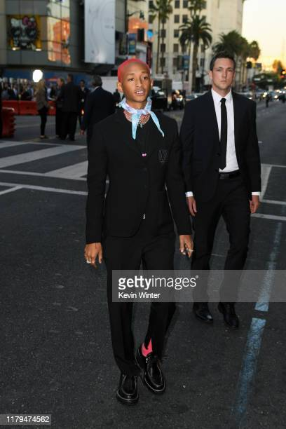 """Jaden Smith attends Paramount Pictures' premiere of """"Gemini Man"""" on October 06, 2019 in Hollywood, California."""