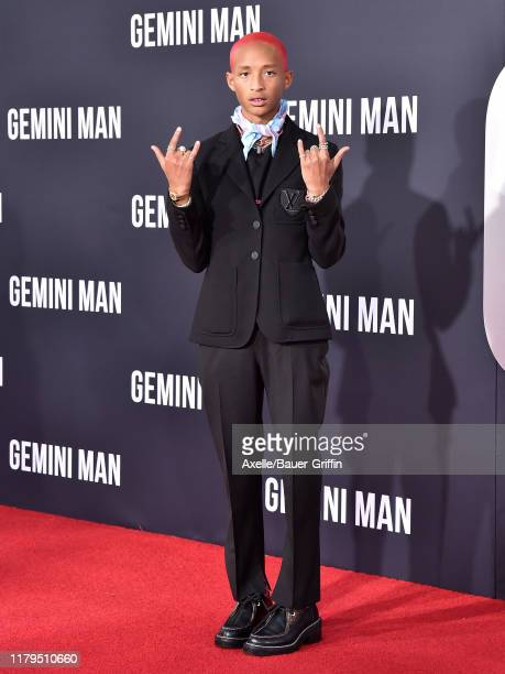 "Jaden Smith attends Paramount Pictures' Premiere of ""Gemini Man"" on October 06, 2019 in Hollywood, California."