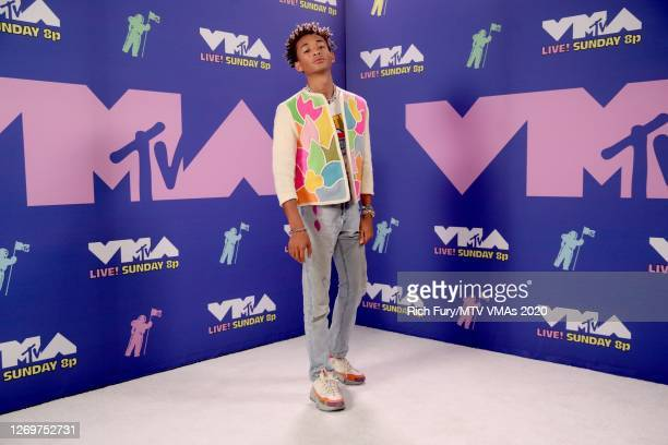Jaden Smith attends the 2020 MTV Video Music Awards, broadcast on Sunday, August 30th 2020.