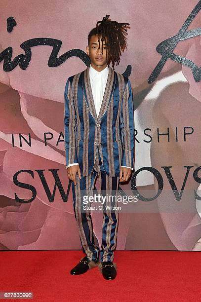 Jaden Smith attends The Fashion Awards 2016 on December 5 2016 in London United Kingdom