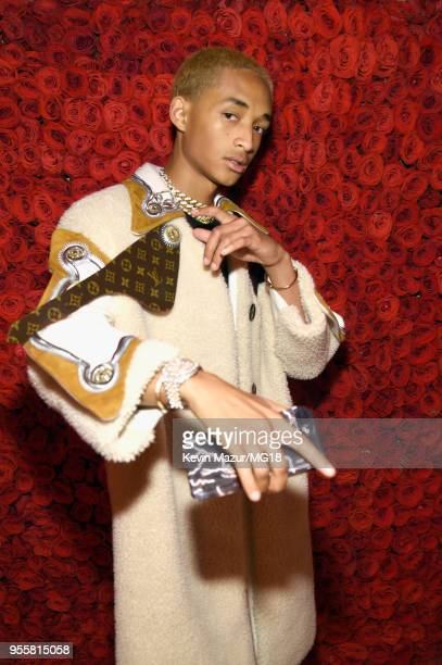 Jaden Smith attends the Heavenly Bodies: Fashion & The Catholic Imagination Costume Institute Gala at The Metropolitan Museum of Art on May 7, 2018...