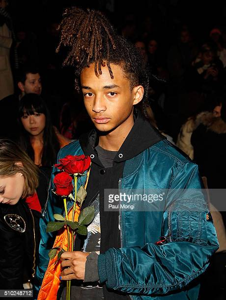 Jaden Smith attends the Hood By Air 2016 fashion show on February 14 2016 in New York City