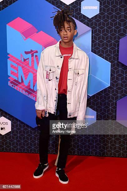 Jaden Smith attends the MTV Europe Music Awards 2016 on November 6 2016 in Rotterdam Netherlands