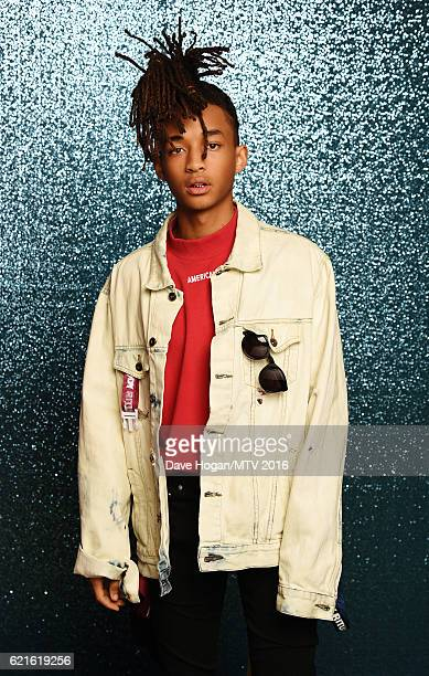 Jaden Smith attends the MTV Europe Music Awards 2016 on November 6 2016 in Rotterdam Netherlands